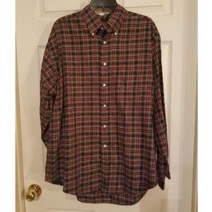Tommy Hilfiger Vintage Shirt Button Down Plaid